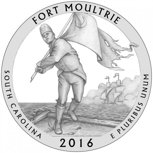 Fort Moultrie Quarter and Coin Design