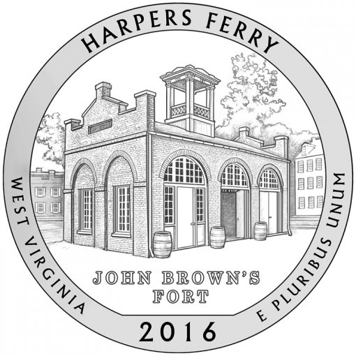 Harpers Ferry National Historical Park Quarter and Coin Design
