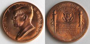 John F. Kennedy Presidential Bronze Medal