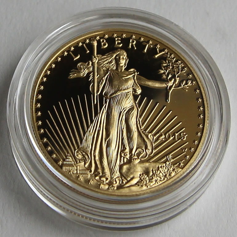 Photo Of 2017 W 50 Proof American Gold Eagle