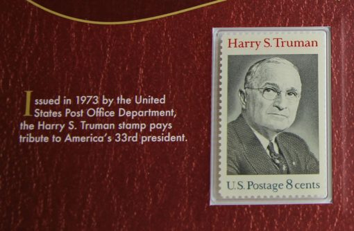 Photo of Harry S. Truman 1973 8c postage stamp