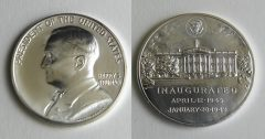 Photo of Harry S. Truman Presidential Silver Medal
