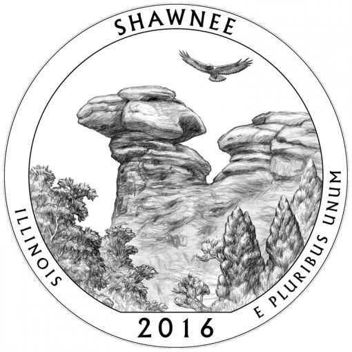 Shawnee National Forest Quarter and Coin Design