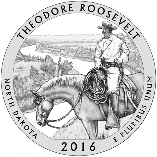 Theodore Roosevelt National Park Quarter and Coin Design