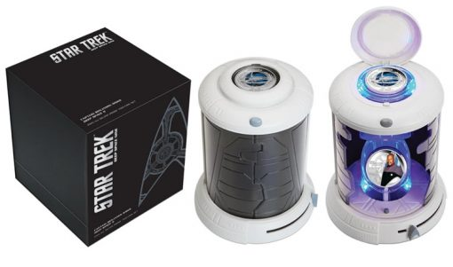 Transporter-themed packaging for 2015 Star Trek Deep Space Nine Coin Set