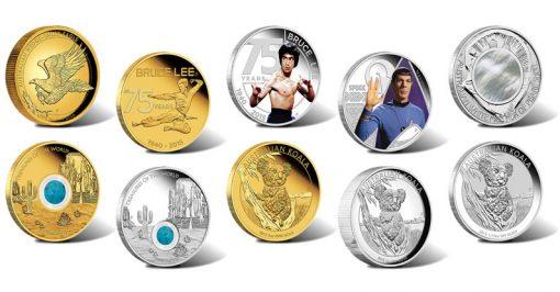 2015 Australian Coins for August