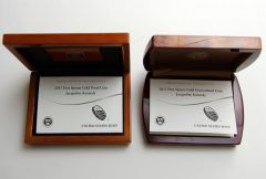 2015 Jacqueline Kennedy First Spouse Gold Coin Certs in Cases