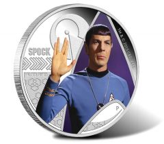 2015 Spock 1oz Silver Proof Coin