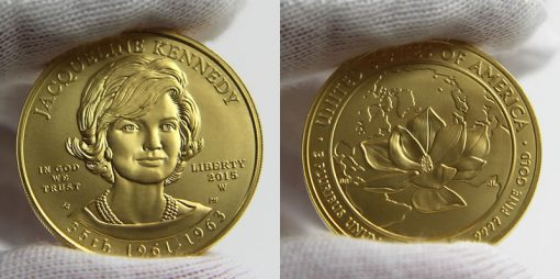 2015-W $10 Uncirculated Jacqueline Kennedy First Spouse Gold Coin