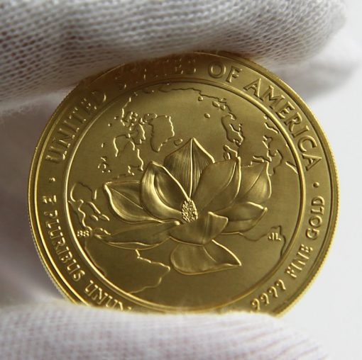 2015-W $10 Uncirculated Jacqueline Kennedy First Spouse Gold Coin, Reverse