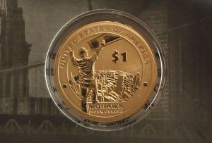 2015-W Enhanced Uncirculated Native American $1 Coin