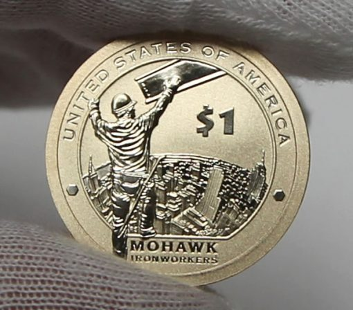 2015-W Enhanced Uncirculated Native American $1 Coin, Reverse-b