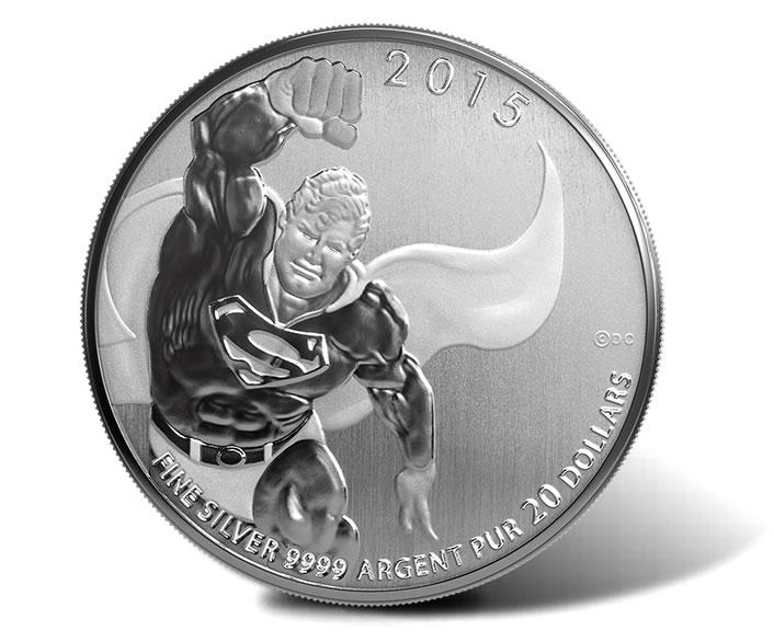 2013 Canada $20 Fine Silver Coin Santa