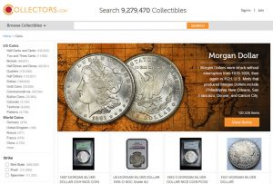 For Sale Listings of Coins and Banknotes at Collectors.com