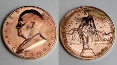 Dwight D Eisenhower Presidential Bronze Medal