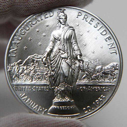 Dwight D. Eisenhower Presidential Silver Medal, Reverse