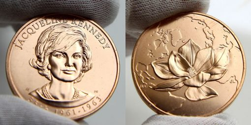 Jacqueline Kennedy Bronze Medal
