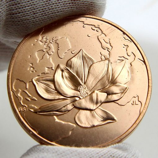 Jacqueline Kennedy Bronze Medal, Reverse