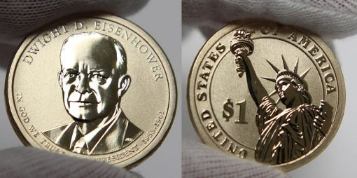 Photo of 2015-P Dwight D. Eisenhower Presidential $1 Coin