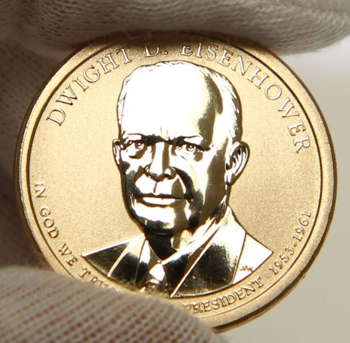 Photo of 2015-P Dwight D. Eisenhower Presidential $1 Coin, Obverse-2