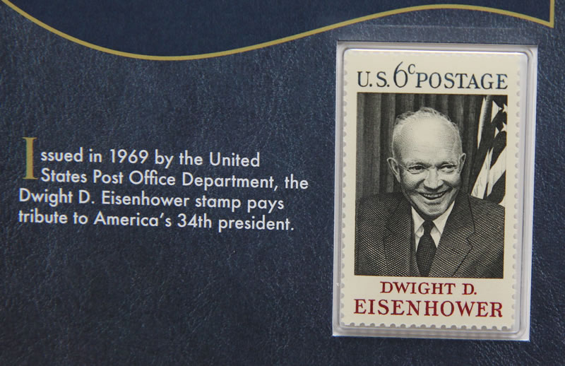 Photo Of The Dwight D Eisenhower 1969 6c Postage Stamp
