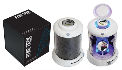 Transporter-themed packaging 2015 Star Trek Voyager Silver Coins