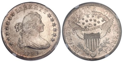 1799 No Berries Silver Dollar