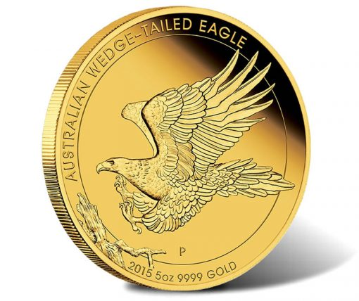 2015 $500 Australian Wedge-tailed Eagle Gold Proof Coin