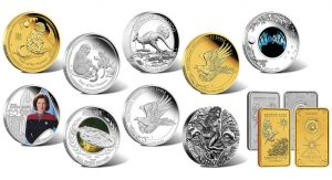 2015 Australian Silver and Gold Coins for September