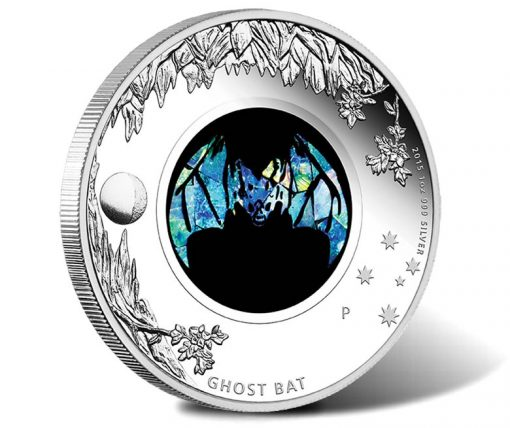 2015 Ghost Bat Opal 1oz Silver Proof Coin
