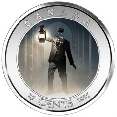 2015 25c Haunted Canada Brakeman Coin Nearing Sellout