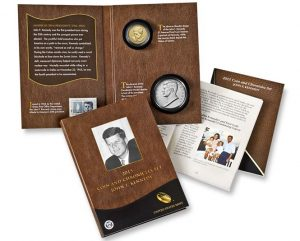 2015 JFK Coin and Chronicles Set