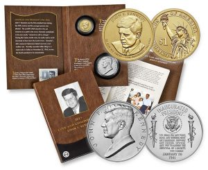 2015 JFK Coin & Chronicles Set Images