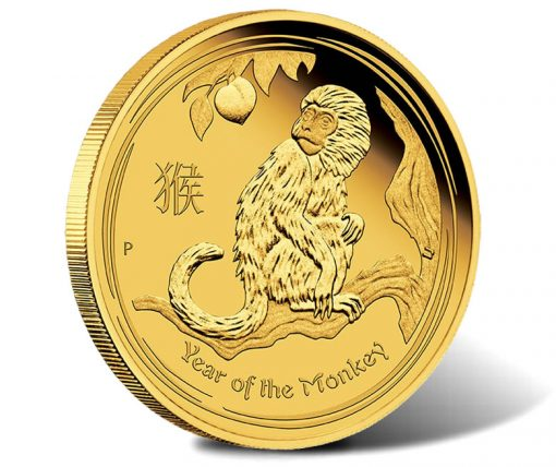 2016 $15 Year of the Monkey Gold Proof Coin
