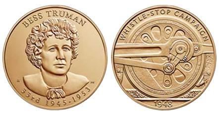 Bess Truman Bronze Medal