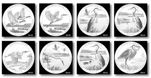 Design candidates for the Bombay Hook National Wildlife Refuge Quarter