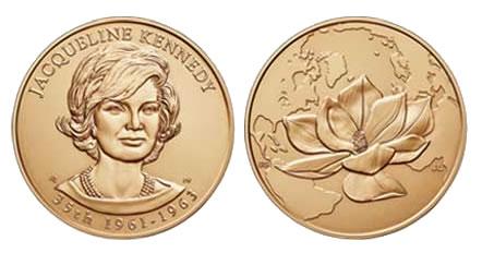 Jacqueline Kennedy Bronze Medal
