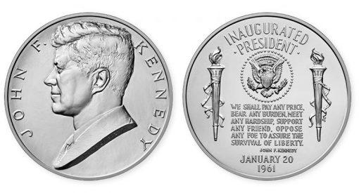 John F. Kennedy Presidential Silver Medal