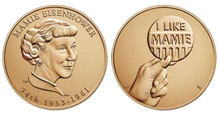 Mamie Eisenhower Bronze Medal