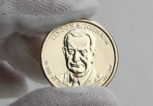 Photo of 2015 Lyndon B. Johnson Presidential $1 Coin