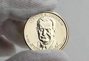 Photo of 2015 Lyndon B. Johnson Presidential $1 Coin