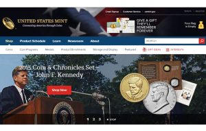 US Mint website, JFK Set