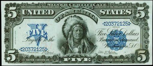 1899 $5 Silver Certificate