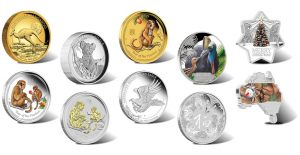2015 Australian Silver and Gold Coins for October