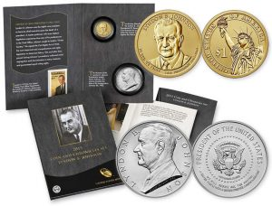 2015 LBJ Coin & Chronicles Set Images