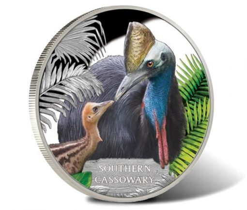 2016 Southern Cassowary 1oz Silver Proof Coin