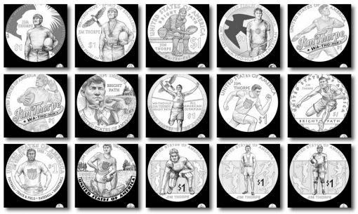 Design candidates 2018 Native American $1 Coin
