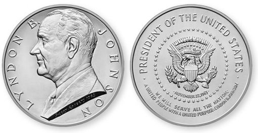 Lyndon B. Johnson Presidential Silver Medal