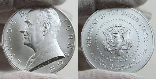 Lyndon B. Johnson Silver Medal