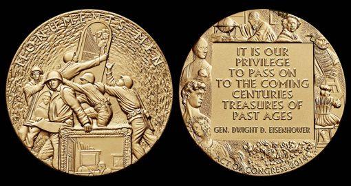 Monuments Men Bronze Medal